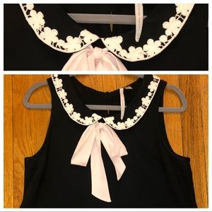 Lauren Conrad Sleeveless Blouse with Bow Size: M
